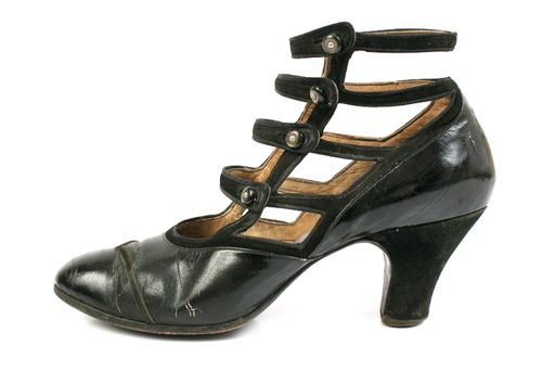 Leather and Suede Pumps | c. 1900-1910