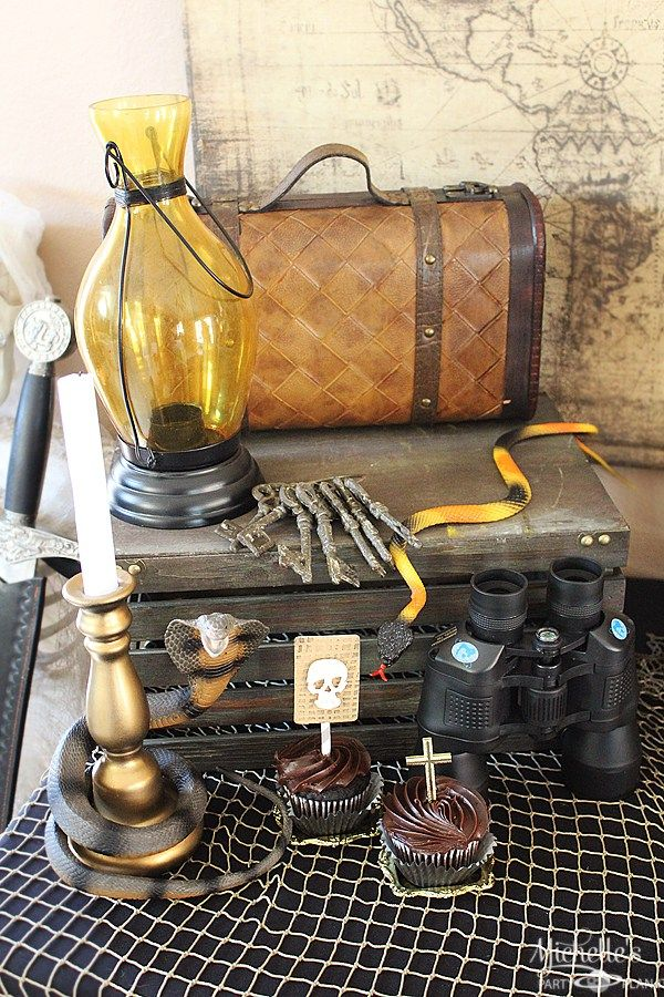 Indiana Jones Party Inspiration   Father's Day Party