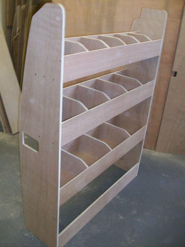 Ford Transit Custom Van Racking Ply Shelving SWB Storage Accessories | eBay