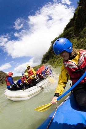 White River Rafting in Hvita River, Iceland