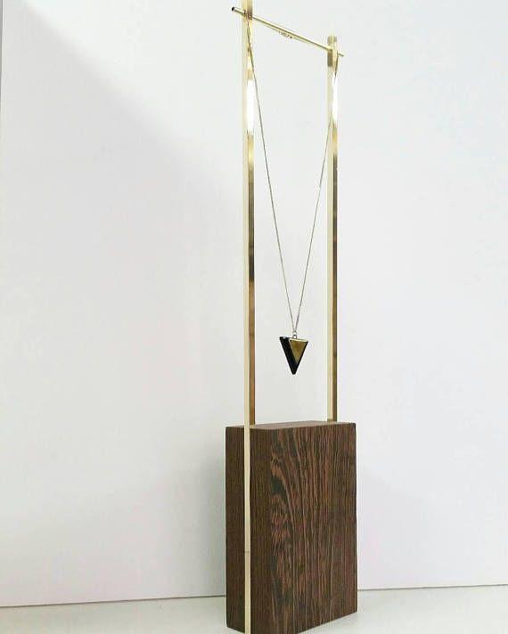 Halskette stehen Schmuck Veranstalter Schmuck Display Minimal-Konzept