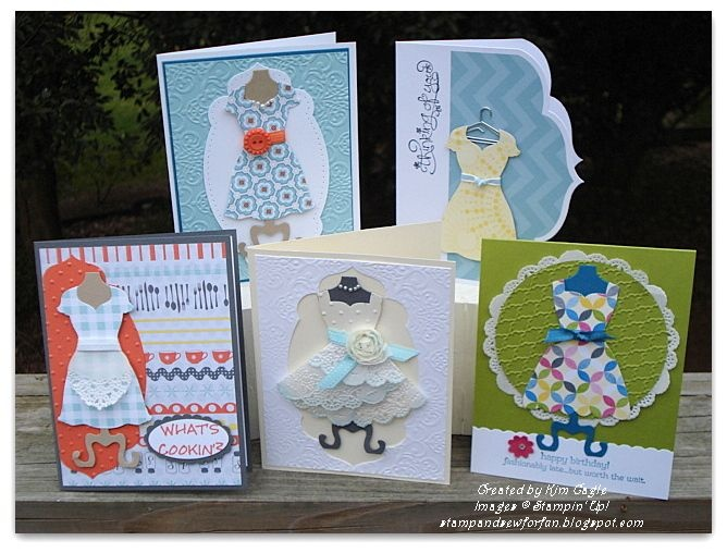Stamp and Sew For Fun: Stampin' Classes All Dressed Up