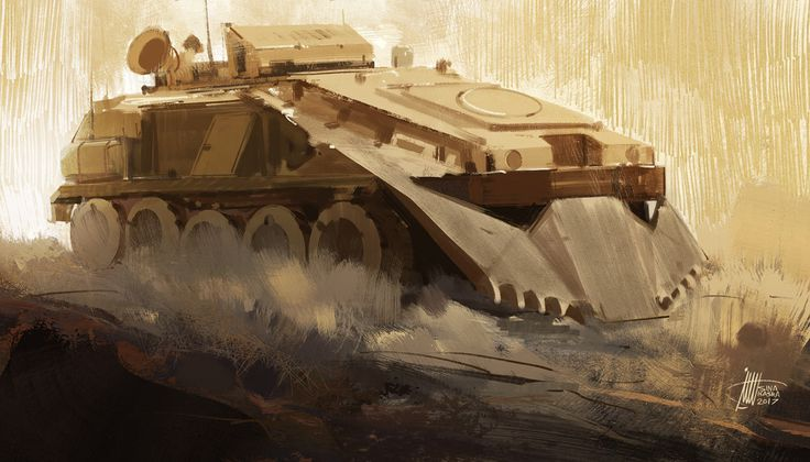 Armoured Personnel Carrier by Sina Pakzad Kasra