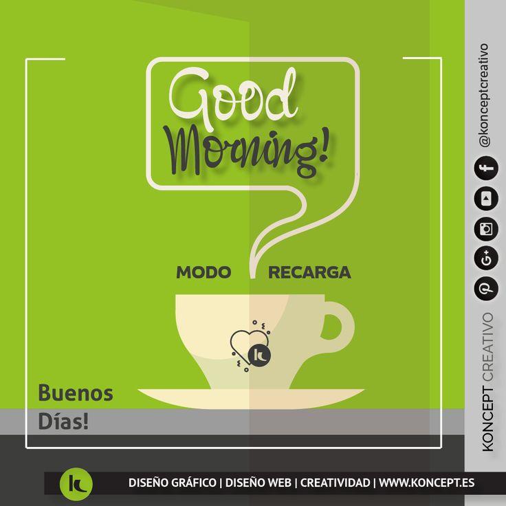 La mejor manera de recargar el día y el inicio de semana ☕ nosotros ya estamos preparados. ¡Vamos a poner chula tu empresa!. . . http://www.koncept.es #lunes #monday #inicio #cambio #ideas #creatividad #metas #objectivos #empresa #negocio #autonomo #emprendedores #business #buenosdias #goodmorning #coffee #recarga #diseñoweb #diseñografico #cafe #diseñograficobarcelona #graphicdesigner #diseñadorgrafico #barcelona #bcn #bcnempreses #sigueme #rrss