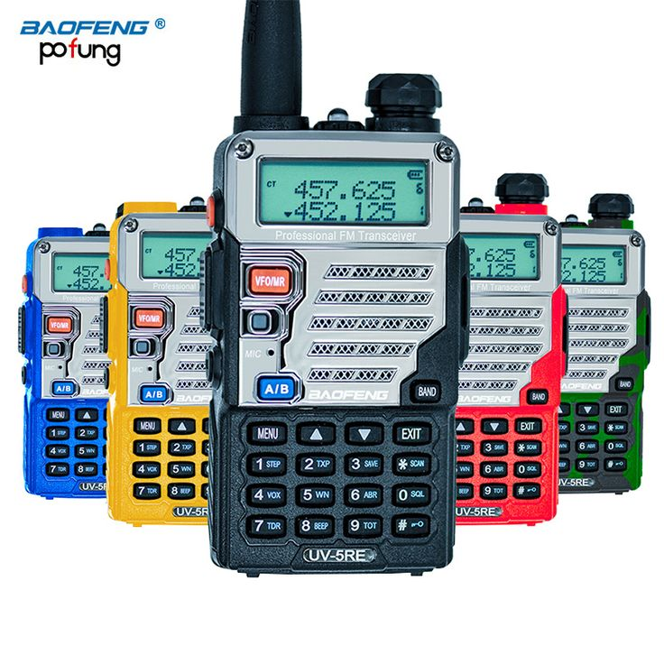 Baofeng UV-5RE Walkie Talkie Dual Band CB Radio baofeng UV5R Updated version 5W 128CH UHF&VHF portable radio