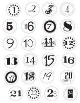 Numbers for advent