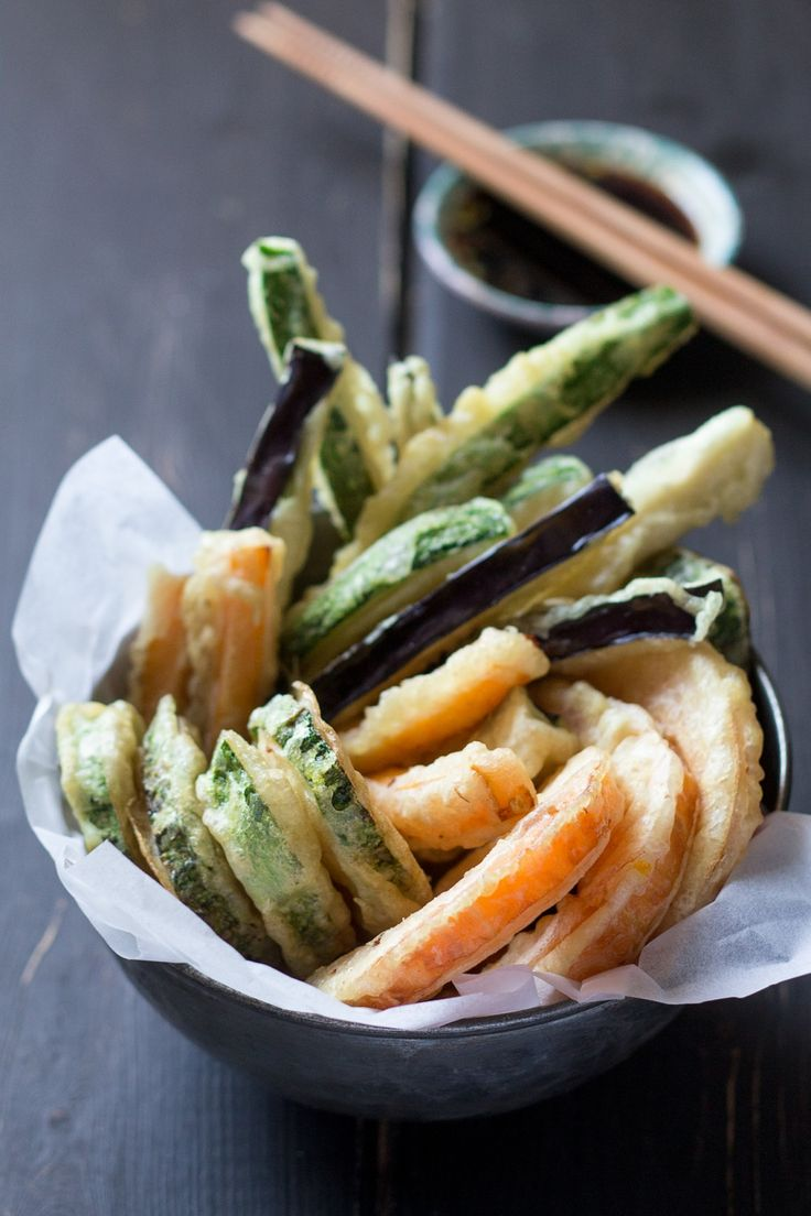 Vegan tempura - Lazy Cat Kitchen. Uses my current obsession, aquafaba!