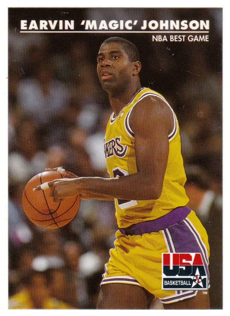 Magic Johnson # 31 - 1992 Skybox USA Team Basketball