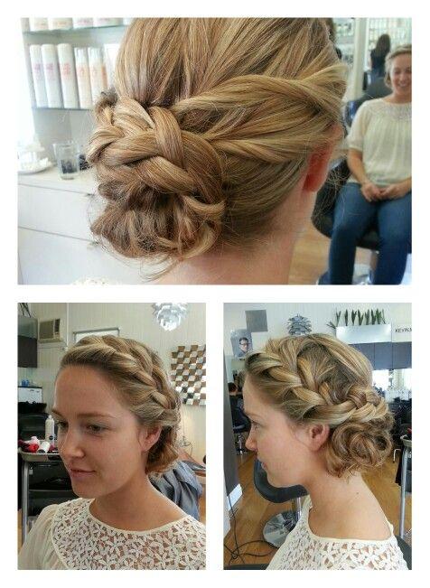 Braided upstyle #longhair #upstyle #formal #braids