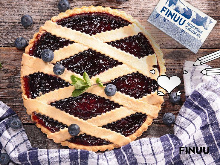 Nie macie pomysłu na niedzielne ciasto? Tarta z borówkami i jagodami to coś, co uwielbiają Finowie. To dzięki tym leśnym owocom cieszą się zdrowiem i pogodą ducha. #finuu #ciasto #blueberry #jagody #cake #pie #inspiracje