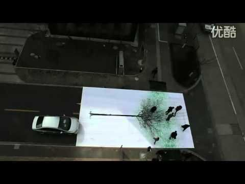 Green Pedestrian Crossing - China Environmental Protection Fund (2010 Campaign)