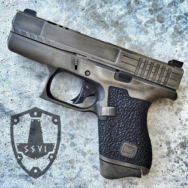 Custom 43   glocks   Pinterest   Guns