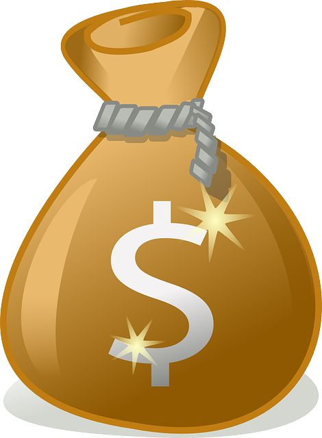 Bolsa o saco de dinero. Gratis para usos comerciales / No es necesario reconocimiento.