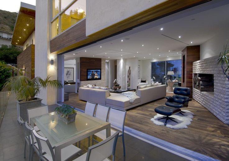 Modern Living Room by William MacCollum