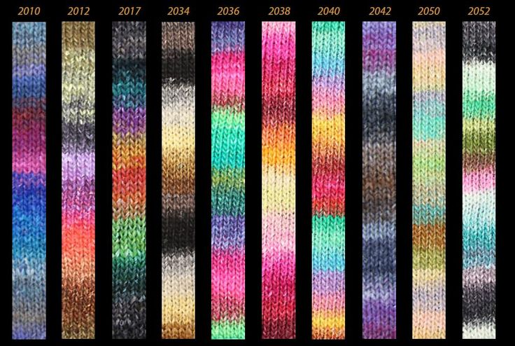 Noro Kureyon Color Card | Noro Yarn: Fantastic Colours ...