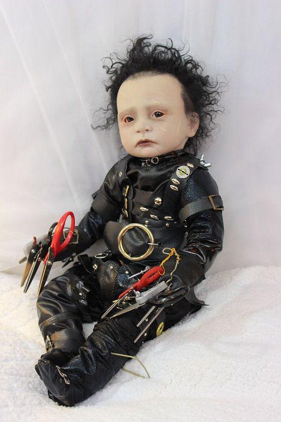 Amazing Edward Scissorhands Johnny Depp Reborn Doll By Orange Grove Nursery