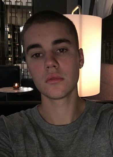 Justin Bieber hair cut!!! 2016/05/01