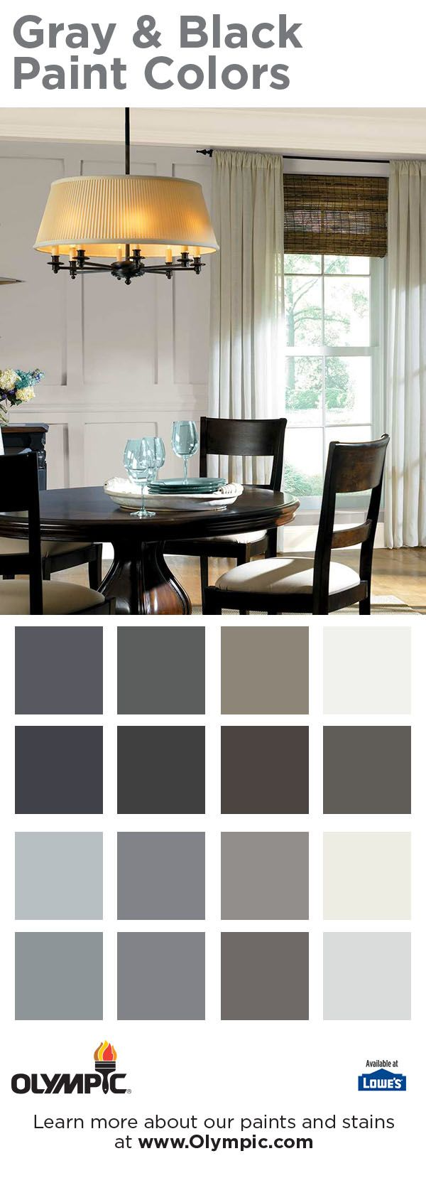 53 best gray u0026 black paint colors images on pinterest paint