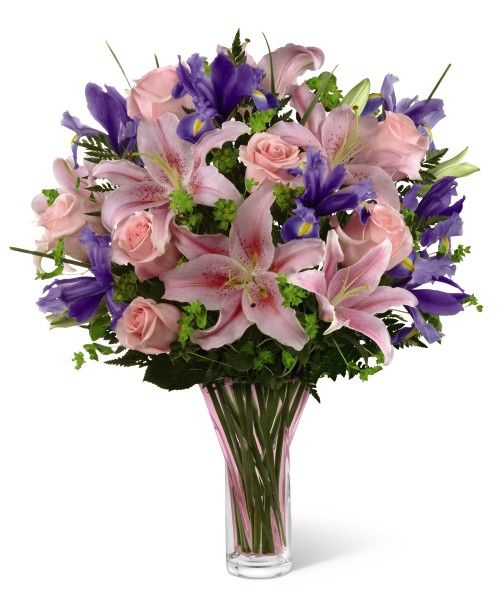 #Roses, #Lilies and #Iris'