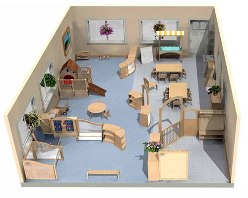 Best 25 montessori classroom layout ideas on pinterest for Small daycare floor plans