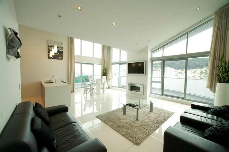 Three Bedroom Penthouse Suite at Distinction Wellington Amazing Suite with the view to match!!