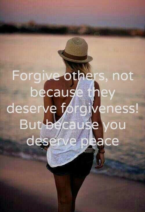 Quotes and Sayings: FORGIVE OTHERS