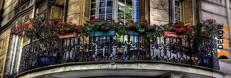 Fransız Balkon Dekorasyon Örnekleri 2017