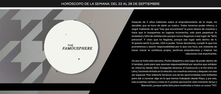 Horóscopo de la semana del 22 al 28 de Septiembre | Miastral