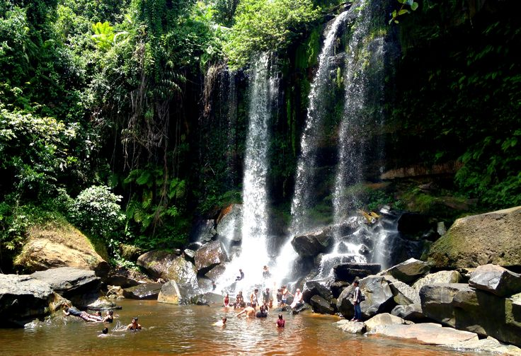 Visiting Phnom Kulen National Park (day trip from Siem Reap) in Cambodia