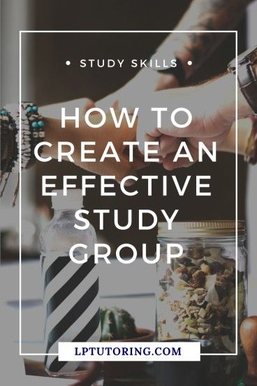 Effective Study Group | Study Strategies | #studygroups