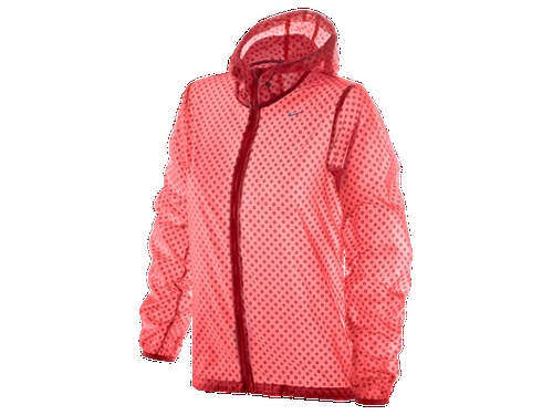 Bold & bright workout gear for spring - NIKE Cyclone Vapor Women's Running Jacket