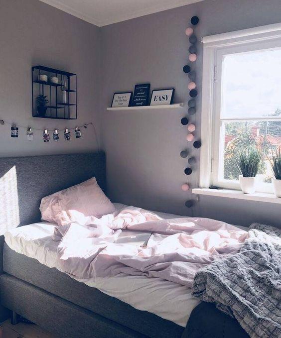 54 Stilvolles, gemütliches, funktionales Schlafzimmer-Dekor für jugendliche Mädchen