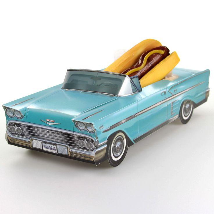 Classic Cruisers ® Blue 58 Chevy Impala