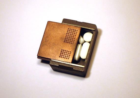 Handmade Metal Pill Box