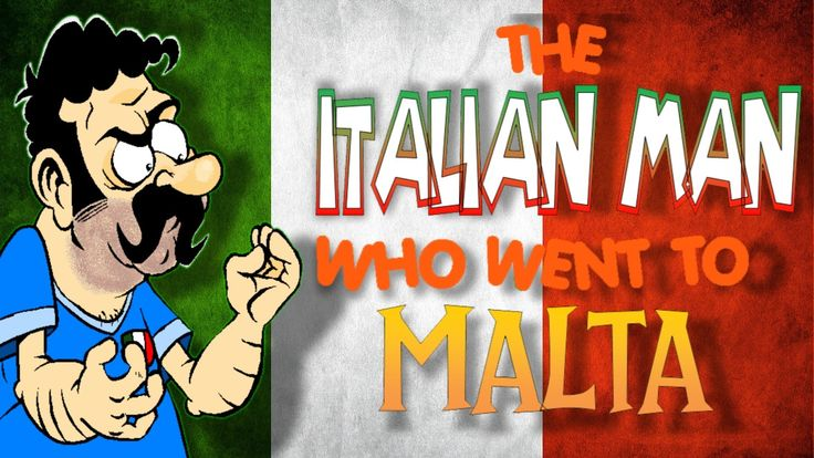 The Italian Man Who Went To Malta - (OFFICIAL ANIMATED VERSION)