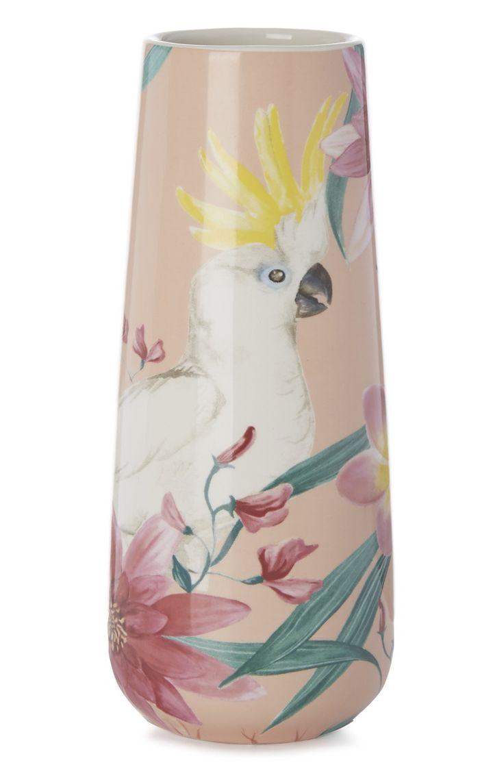 Primark - Vaso cacatua cor-de-rosa