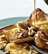 Rachel Ray Puffy PancakeBreakfast Brunches, Breakfast Ideas, Rachel Ray, Nutty Bananas, Puffy Pancakes, Rachael Ray, Breakfast Recipe, Bananas Butterscotch, Brunches Menu