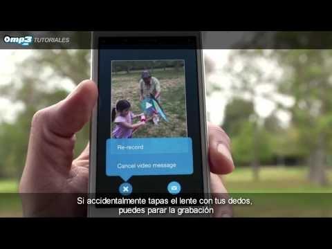 Graba y envía un mensaje de vídeo con Skype - Este servicio de mensajería se suma a la tendencia actual de los vídeos en Internet. Aprende a enviar mensajes de vídeo con este videotutorial.