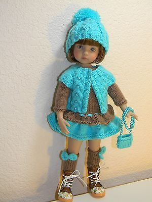 """***FALL***Knit Outfit 6-Pieces for Dianna Effner Little Darling 13"""""""
