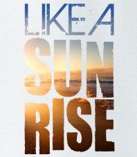 Whether you're hot like a sunrise or just a fan of Ketut, this design makes an Awesome Tshirt to add to your collection