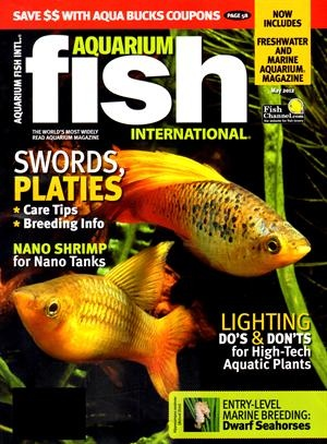8 best images about animals and pets magazines on for Tropical fish magazine