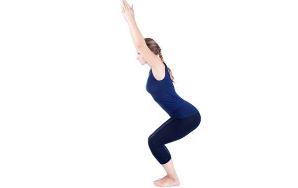 Yoga For Weight Loss - Utkatasana