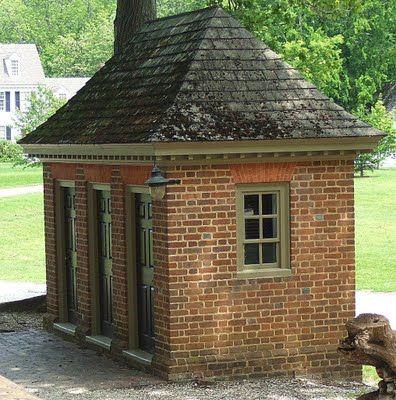 17 best images about trim color inspiration on pinterest for Brick garden shed designs