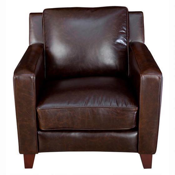 Urban Barn - Preston Leather Arm Chair