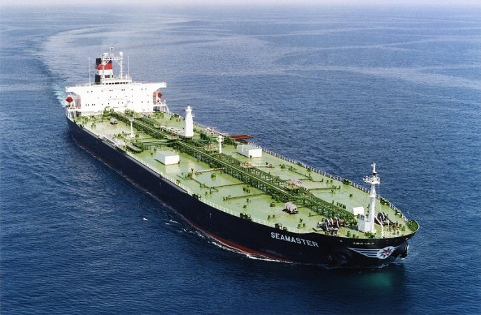 Aframax crude oil tanker, Seamaster. Source: www.maritime-connector.com