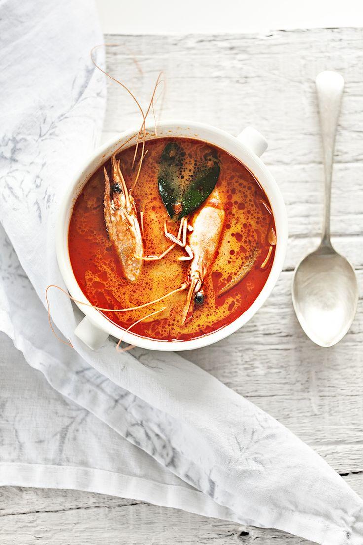 Prawns Tom Yum Soup | Ceramic Bowl from Serax