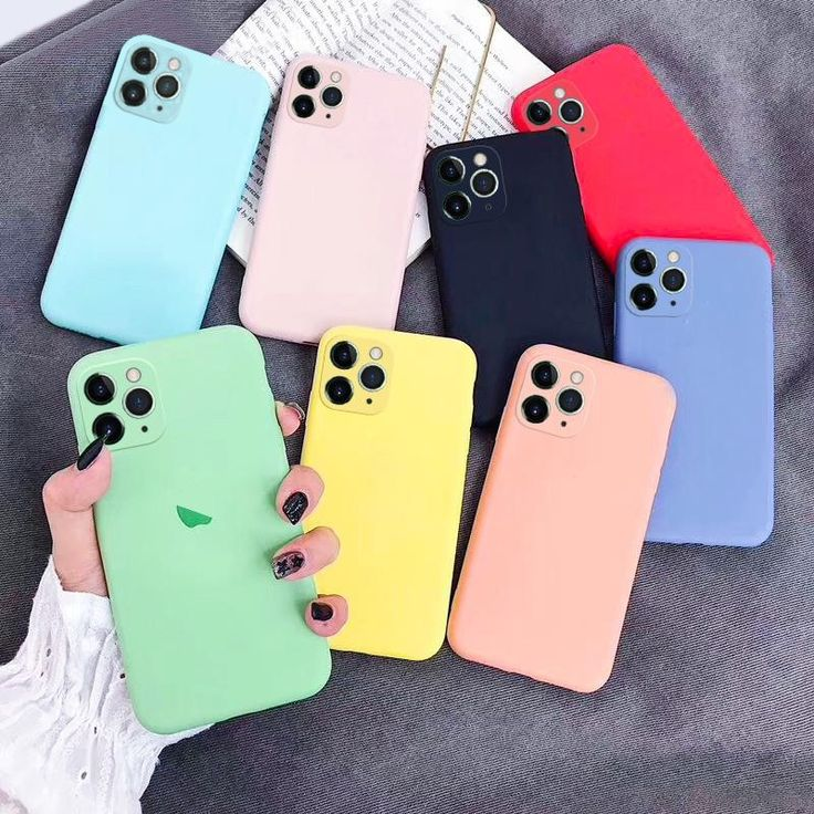 Official Liquid Silicon Case For iPhone 11 Pro Max XR X XS