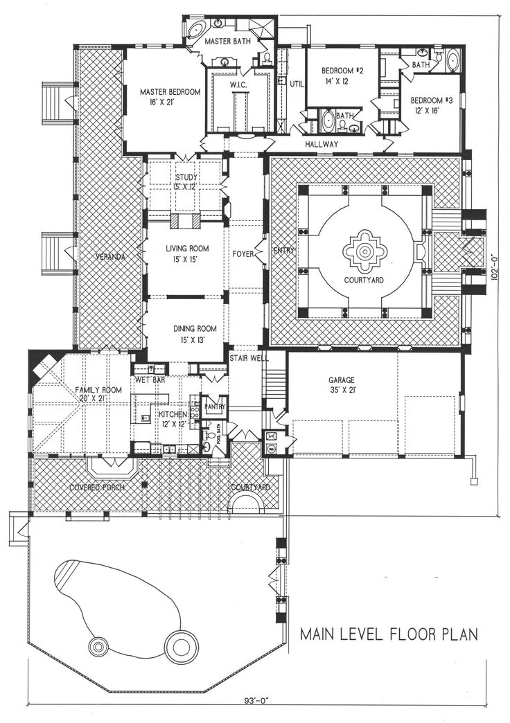 floor plan of a house in spanish. main floor i like the plan but canu0027t for life of me figure out how to get into attic storage good place store supplies a house in spanish