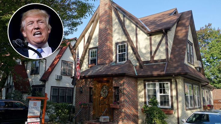 Donald Trumps Childhood Home Available for Rent