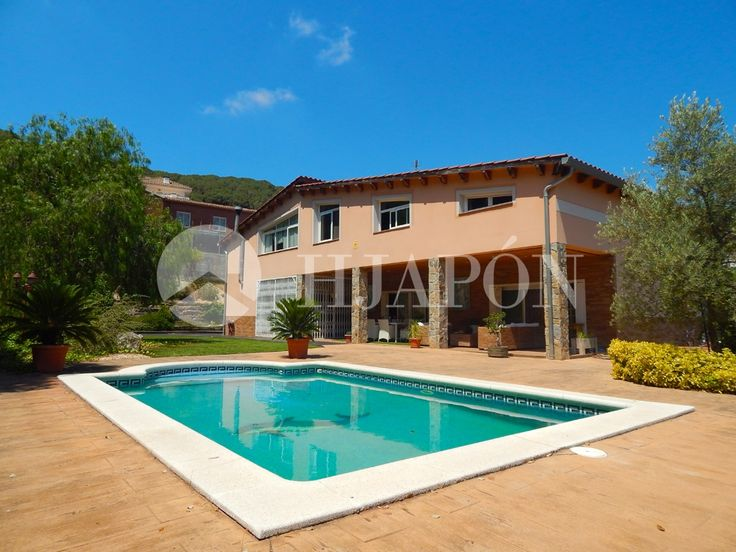 A beautiful, high-end house for sale in Cabrils; located on the coast of Spain in Barcelona.
